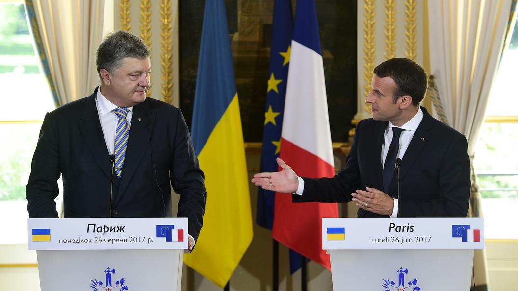 Киев признал: В формуле Макрона нет ничего нового