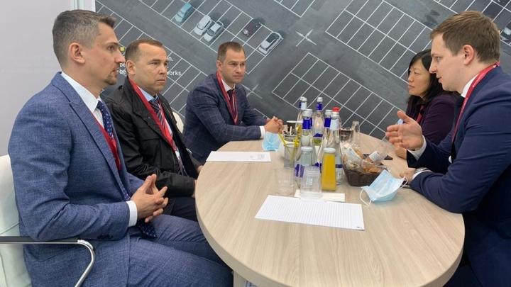 Губернатор Шумков провел переговоры с гендиректором компании Wildberries