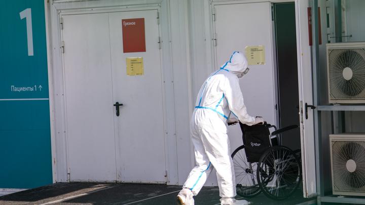 В люберецком ФОКе разворачивают временный госпиталь для лечения больных коронавирусом