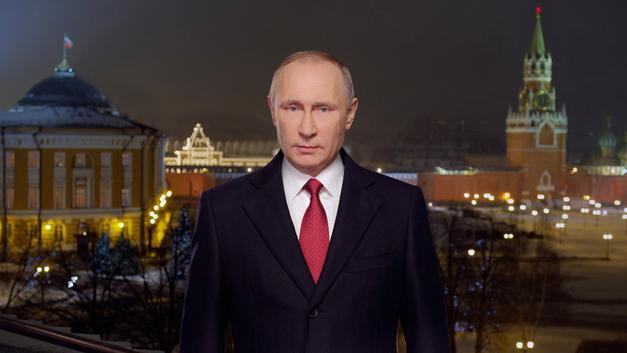 В Новый год в Латвии смотрели поздравления Путина, а не своего президента