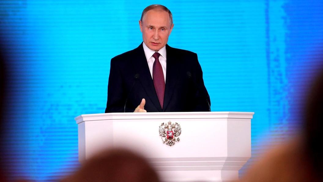 «Сармат» игиперзвуковые ракеты показали вовремя выступления президента