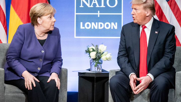 Взбунтовалась против гегемонии США? Трамп и Меркель горячо поспорили о Северном потоке - 2 - СМИ