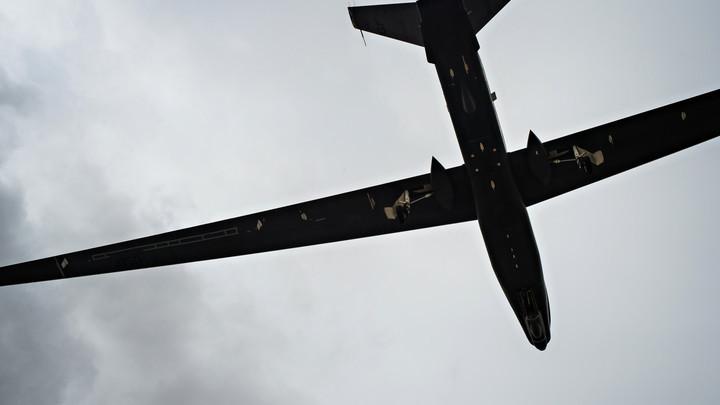США перебросили разведывательный беспилотник Global Hawk из Донбасса в Прибалтику