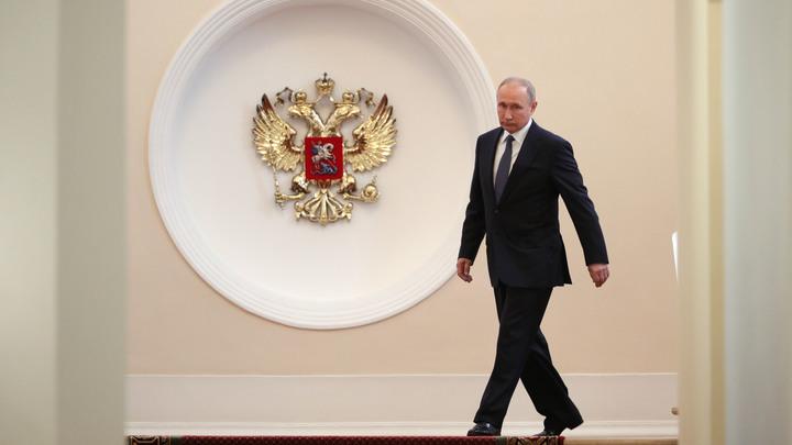 Путин подарил первому оперативному полку милиции орловского рысака