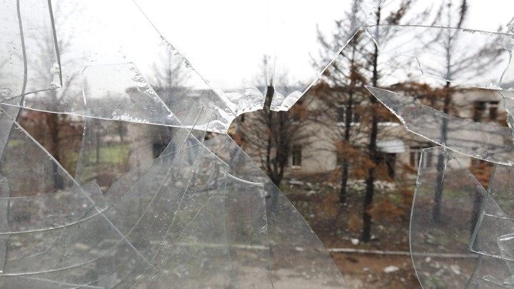Неопознанный самолёт над Донецком сняли на видео. В ОБСЕ считают, что это бомбардировщик