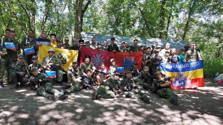 Донские казаки выступили в поход против условного противника