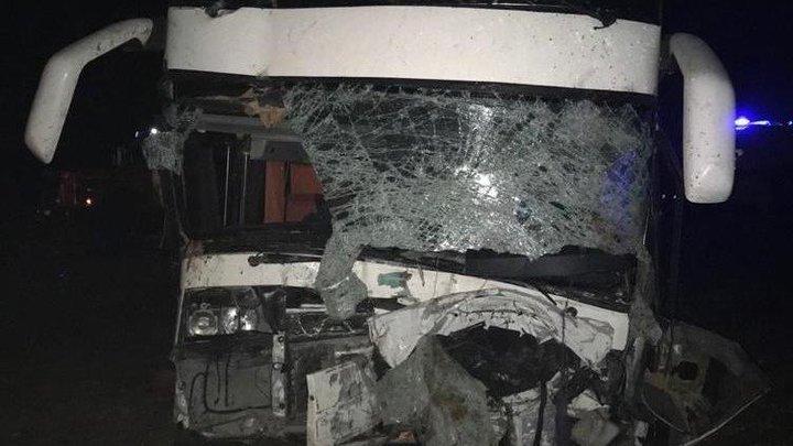 Страшная авария с участием автобуса в Ростовской области: два человека погибли
