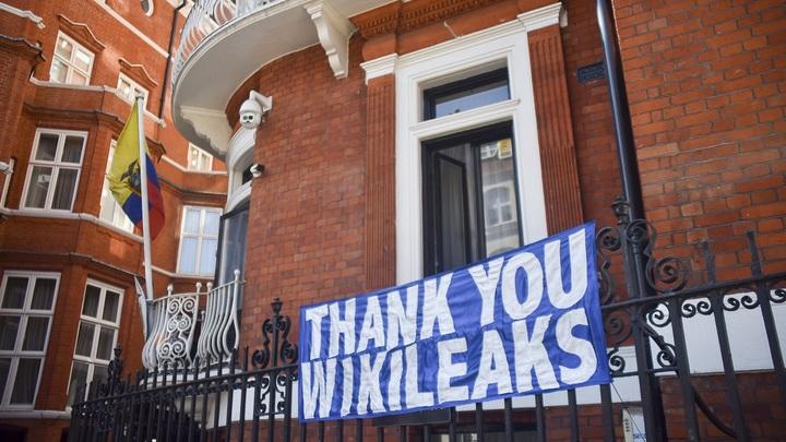 Посольство Российской Федерации встолице Англии: статья опланах побега Ассанжа— дезинформация ифейк