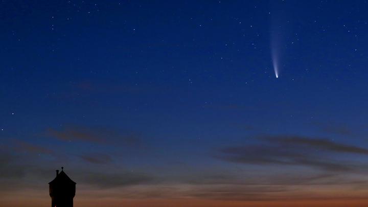 А, вы уже... Русские посмеялись над кометой, опоздавшей к катастрофам-2020