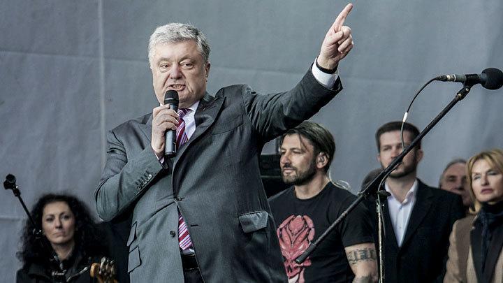 Пляски и песни без Зеленского: Как Порошенко «дебаты» в митинг превратил