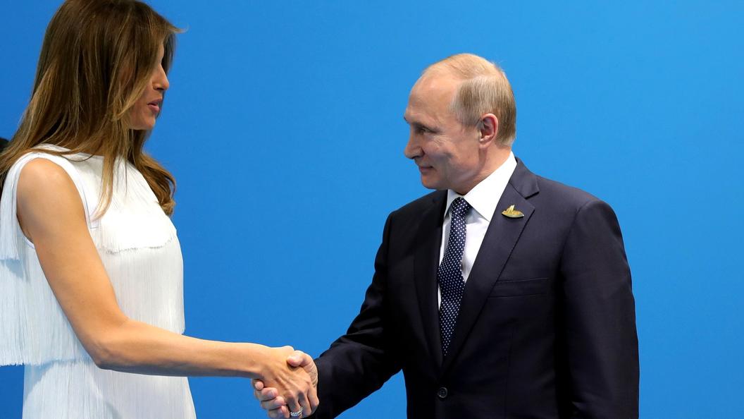 Песков рассказал о симпатии при общении Владимира Путина и Меланьи Трамп