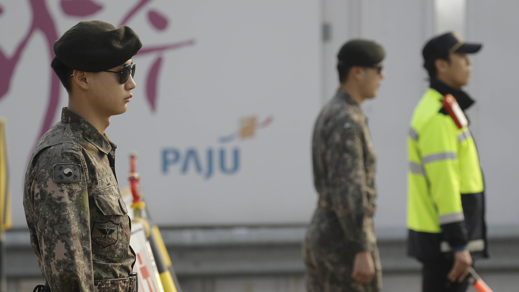 ОфицерВС КНДР убежал налодке вЮжную Корею