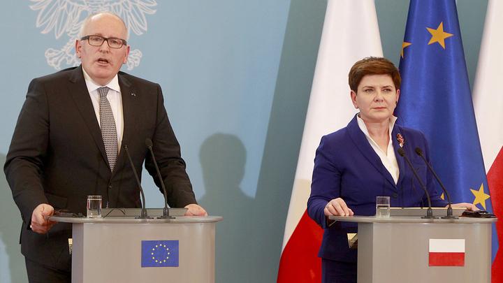 Польский бунт консервативного атлантизма против Брюсселя