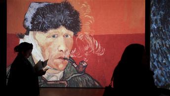 Ученые: Ван Гог заживо замуровал кузнечика на картине Оливковые деревья