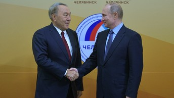 Назарбаев - Путину: Операция ВКС в Сирии была важна для всего мира