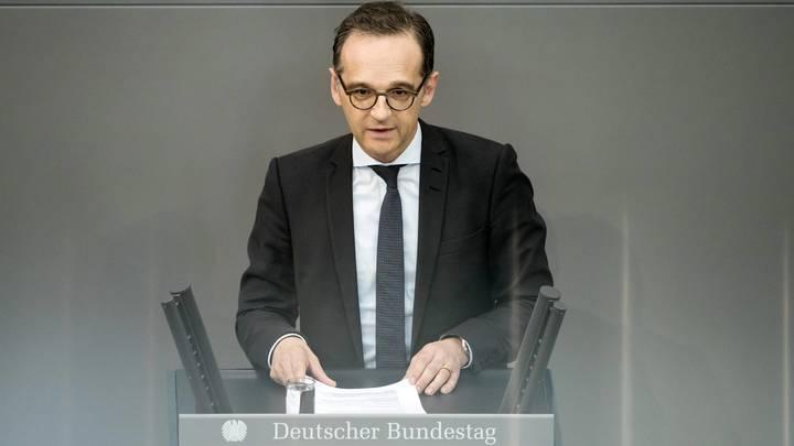 Главу МИД Германии заклевали за ругань в адрес России