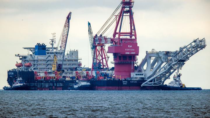 Класть на санкции США: Строительство Северного потока - 2 в Дании возобновится с 15 января