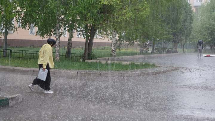 Аномальная жара и град придут в Кузбасс в понедельник, 26 июля