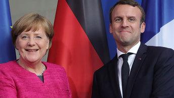 Лидеры Германии и Франции попытаются спасти ЕС