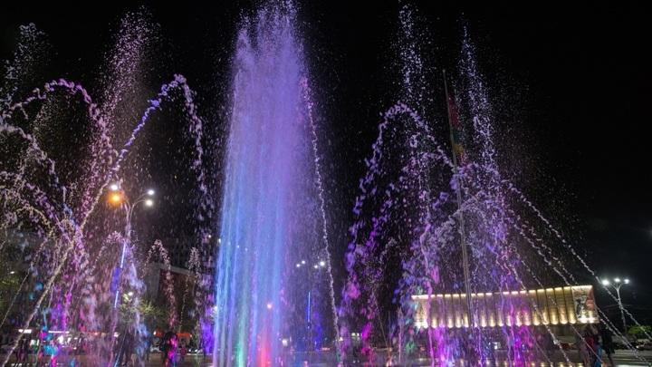 На главном фонтане Краснодара на выходных звучит музыка Глинки