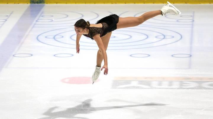 Цирк: Немецкая фигуристка решила словесно унизить русских спортсменок, поскольку не может их победить на льду