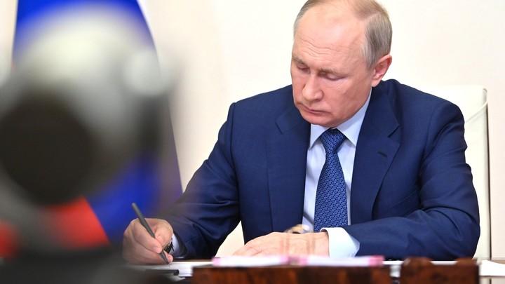 Путин ответил на вопрос об обязательной вакцинации: Ничего проще нет