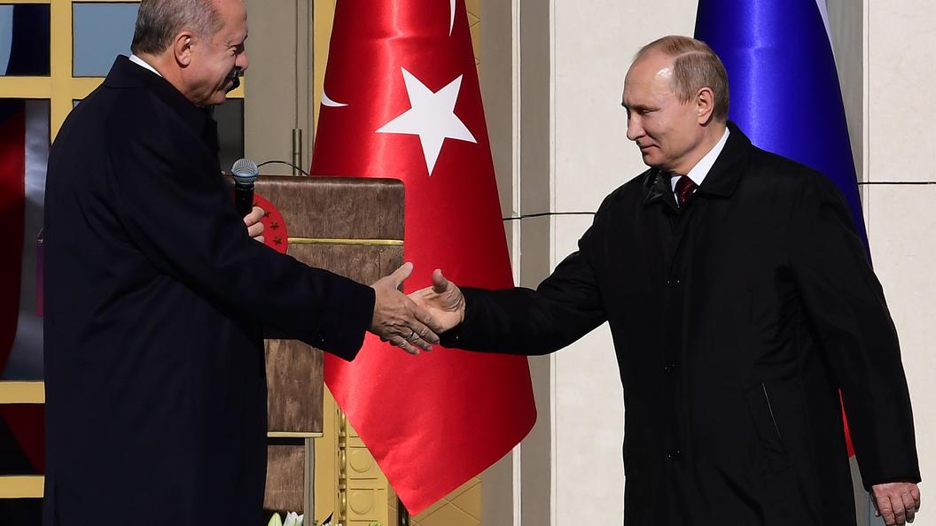 Мощности «Турецкого потока» хватит наобеспечение газом всей Юго-Восточной Европы— Путин