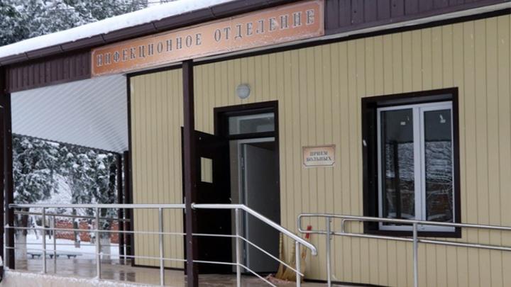 Первых пациентов примут в феврале: В Кореновской ЦРБ провели капремонт инфекционного отделения