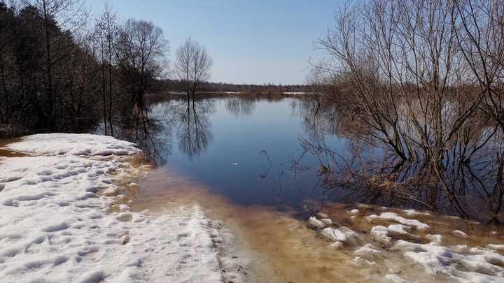 Паводок: во Владимирской области прогнозируют подтопления улиц в Судогде и Вязниках