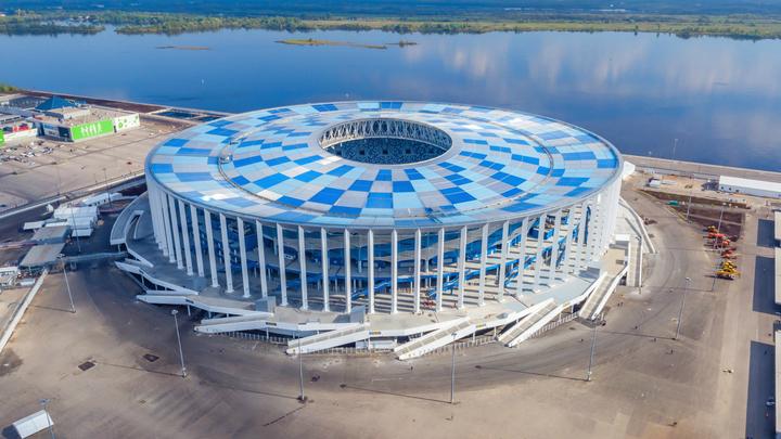 Большой футбол заглянет в Нижний Новгород: на новом стадионе пройдёт финал Кубка России