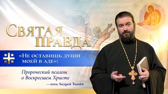 Не оставишь души моей в аде: Пророческий псалом о Воскресшем Христе — отец Андрей Ткачёв