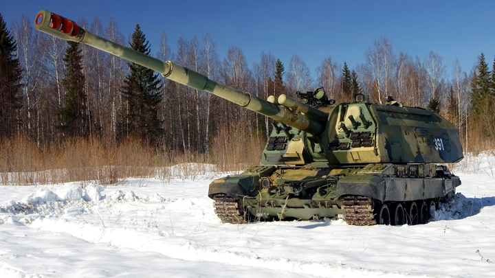 Точно в цель: Минобороны России показало стрельбы со снарядом Краснополь