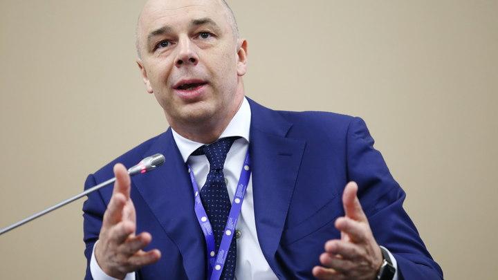 Силуанов понадеялся на авось в случае ужесточения санкций против России