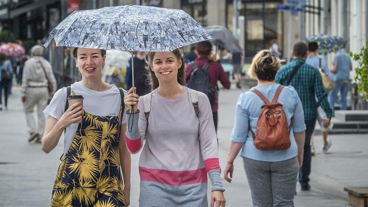 Последняя неделя перед майскими праздниками начнется с дождей