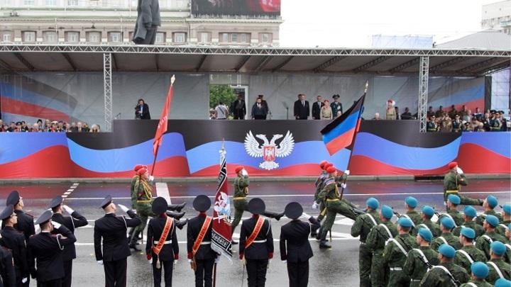 Военный парад и стотысячный «Бессмертный полк»: Как Донецк отметил День Победы