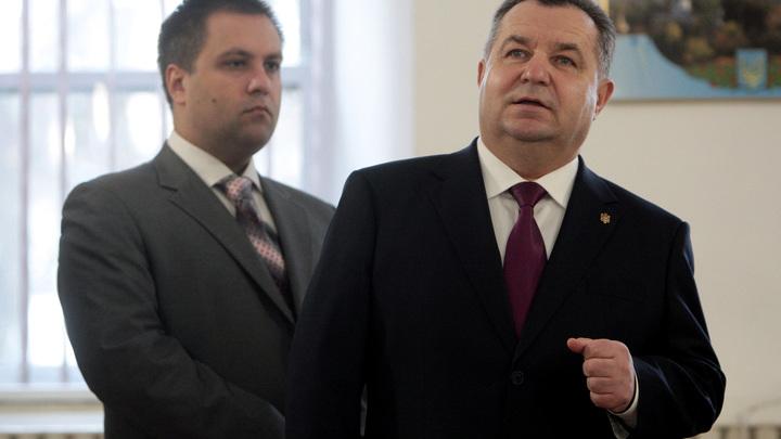 Только отставленный министр обороны Украины нашёл, чем похвастаться, но испугался и стёр пост
