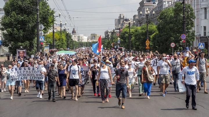 Кто на самом деле вышел на улицы Хабаровска: Отец Андрей Ткачёв наглядно показал этих людей