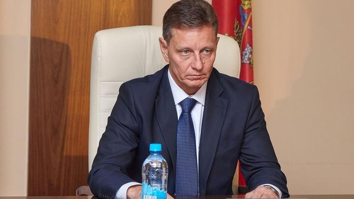 Губернатора Владимира Сипягина госпитализировали в коронавирусную больницу