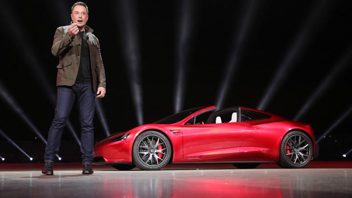 Илону Маску не терпится выпустить электрический пикап Tesla
