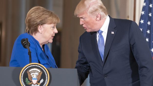Трамп рассказал об «отличной встрече» с Меркель по поводу «Северного потока - 2»