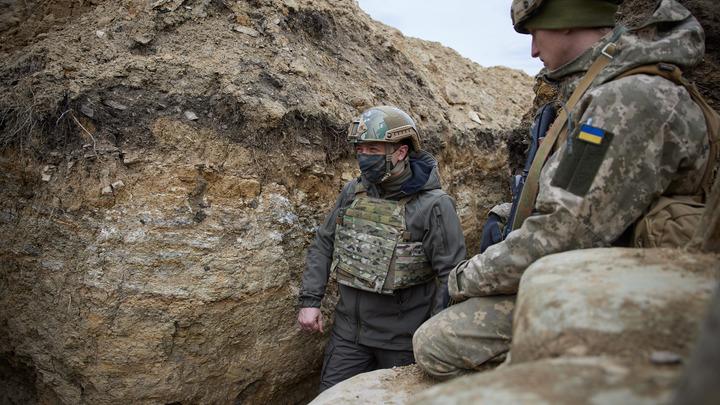 Мы не можем: У Зеленского пообещали не наступать в Донбассе