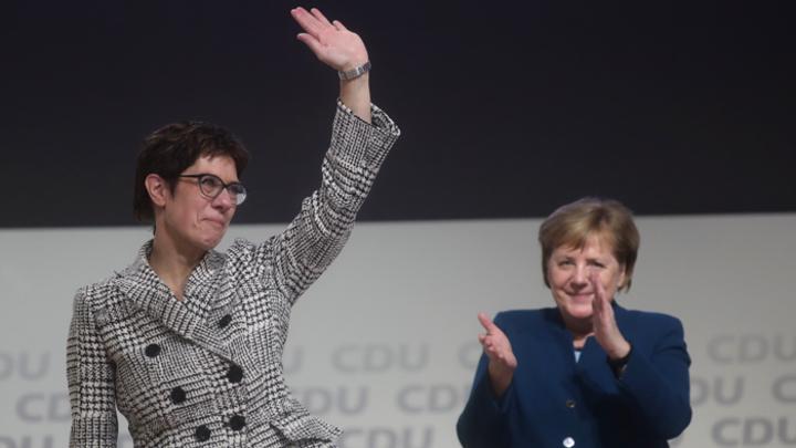 В Германии установлен «матриархат»: Меркель сменила «Меркель 2.0»