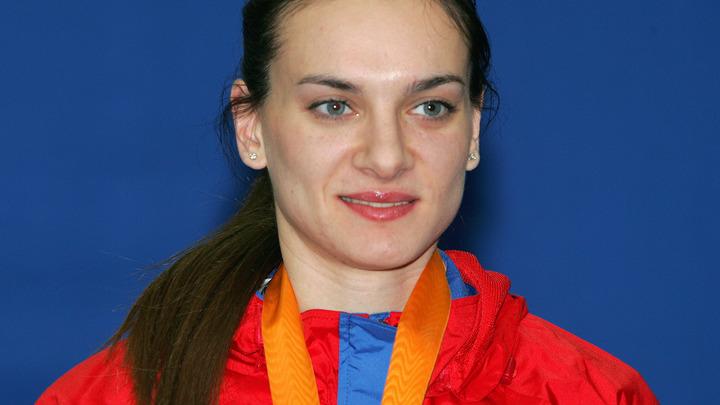 В семье олимпийской чемпионки Елены Исинбаевой появился наследник