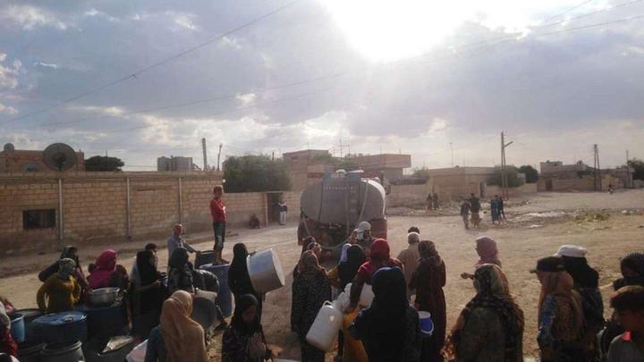 Турция устроила в Сирии экологическую катастрофу. Кадры бегущих людей показал Блохин