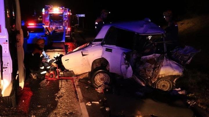 В Адыгее в аварии на автодороге «Кавказ» погибли два человека, в том числе женщина-водитель