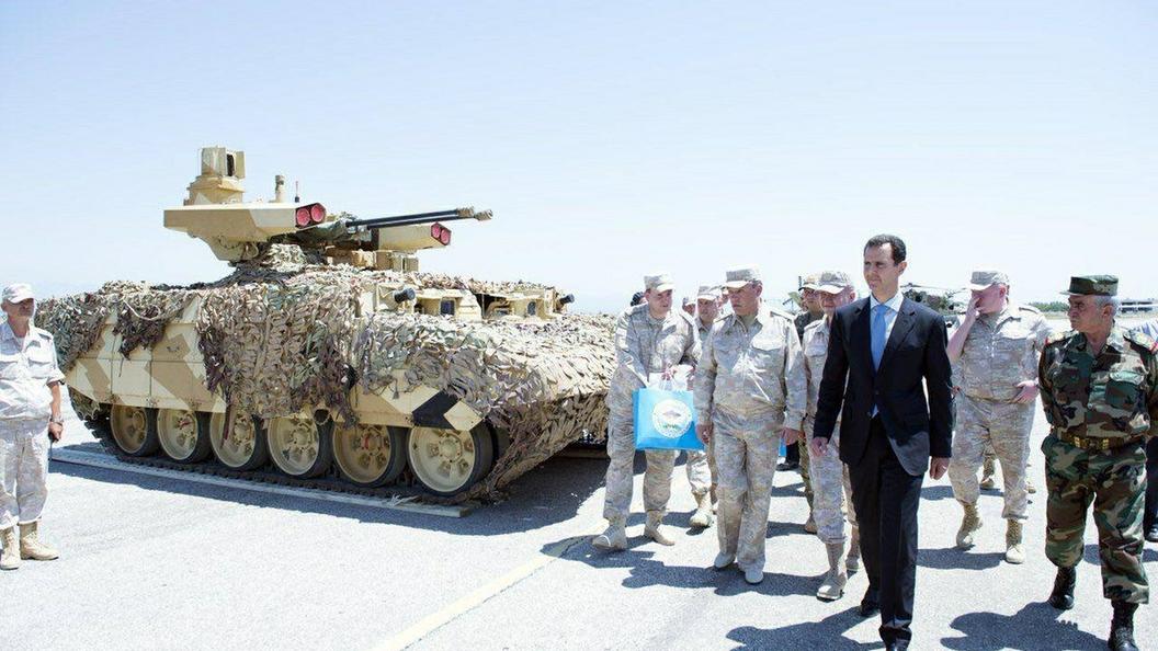 Rússia testa veículo militar 'Terminator-2' na Síria