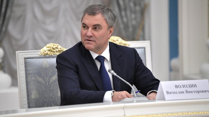 Нет участия - нет денег: Председатель Госдумы Вячеслав Володин отказал ПАСЕ в деньгах