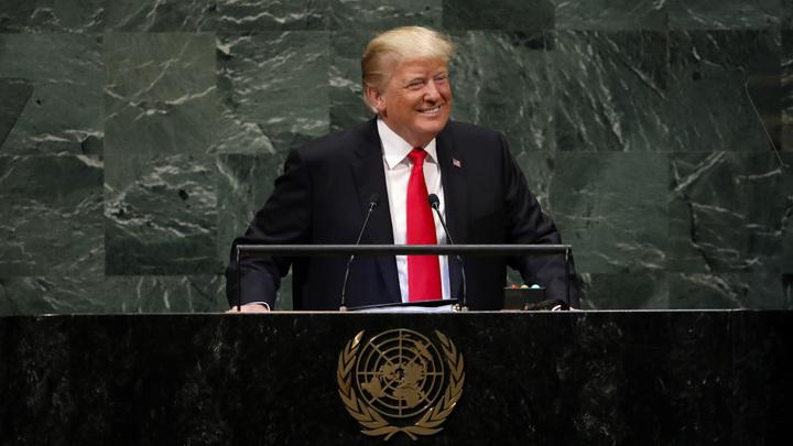 «Не ожидал такой реакции»: Трампа подняли на смех во время Генассамблеи ООН - видео