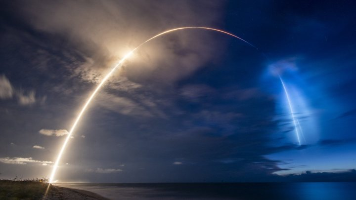 Falcon 9 с навигационным спутником совершила сорванную пандемией миссию