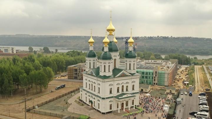 Первый храм в честь основателя Нижнего Новгорода освятили на Автозаводе